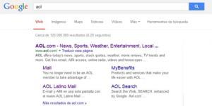 aol en buscador google