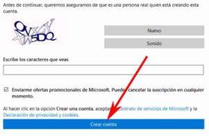 Cómo crear una cuenta en Hotmail por primera vez