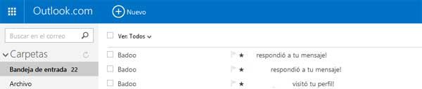 acceso a badoo por el email