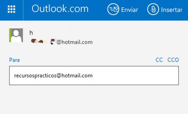 como se envia un correo