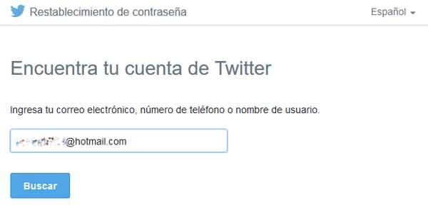 entrar a twitter