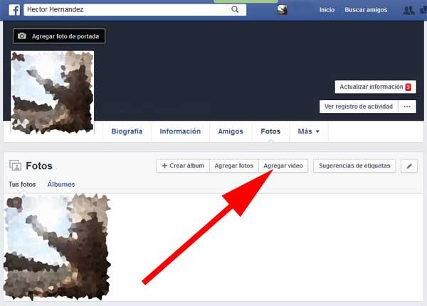 poner video en facebook