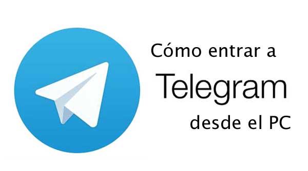telegram desde el computador