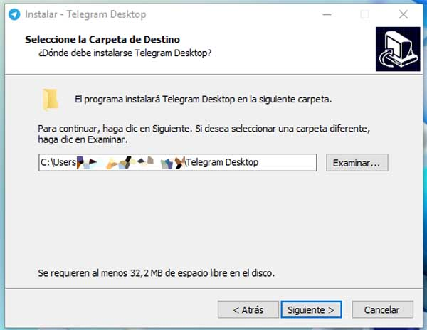instalar telegram desktop