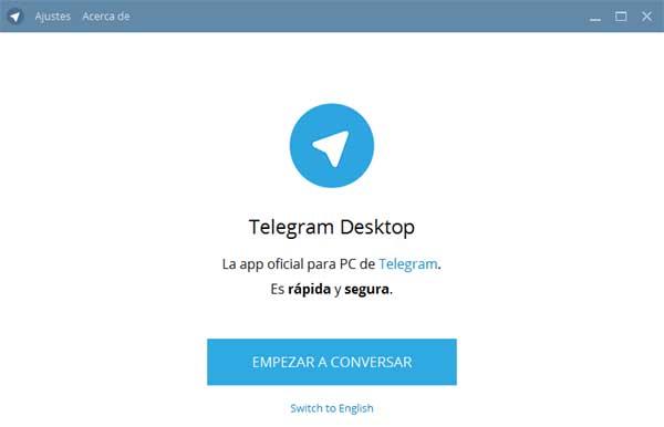 entrar a telegram de escritorio