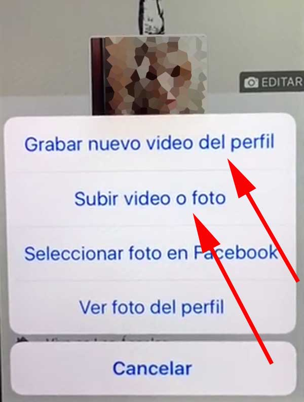subir video de perfil a facebook