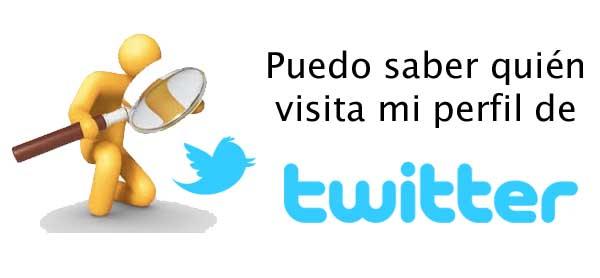 visitas de twitter