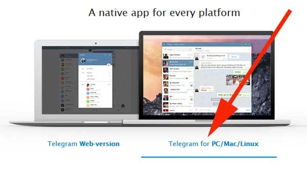 telegram para el computador