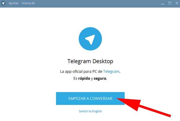 acceder a telegram