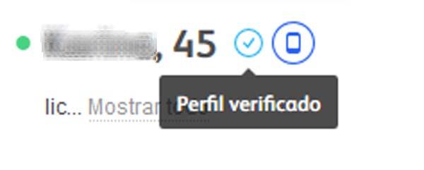perfil de usuario de badoo
