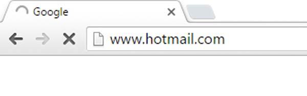 dirección de hotmail
