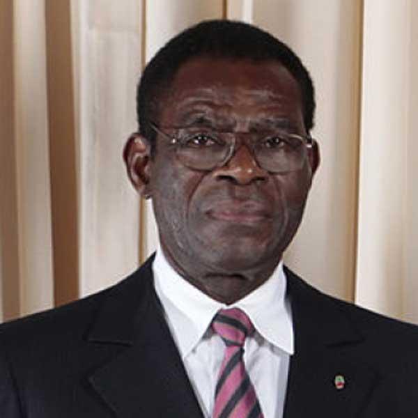 Dictador de Guinea Ecuatorial