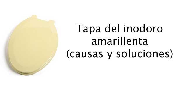 Tapa del inodoro amarillenta recursos pr cticos for Tapa water roca