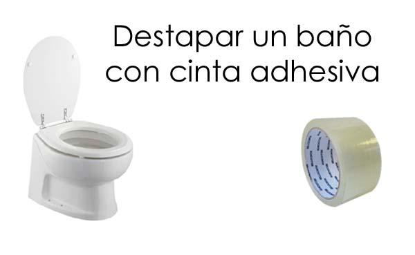 destapar wc