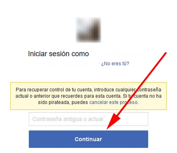 Facebook robado