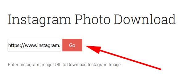 Guardar foto de Instagram