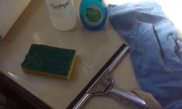 Trucos para limpiar espejo