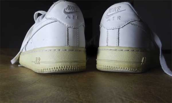 nike air force one suela amarilla