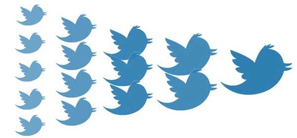 Popularidad en Twitter