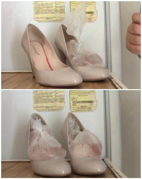 agrandar zapatos