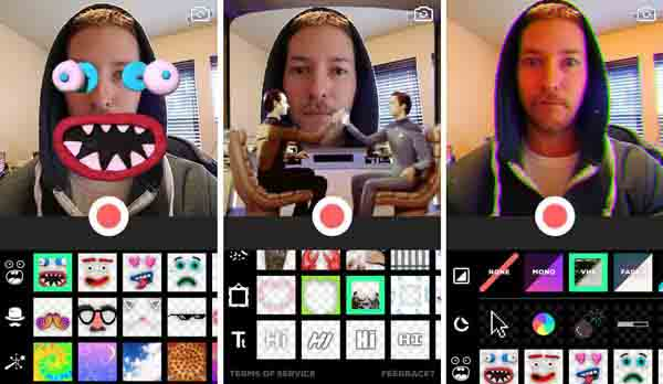 Hacer GIFs con la aplicación Giphy Cam