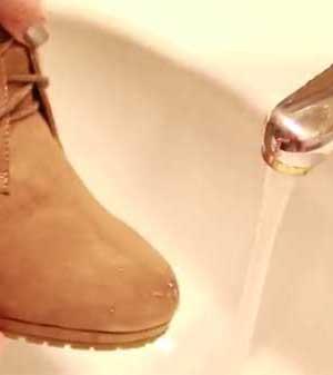 Cómo impermeabilizar zapatos