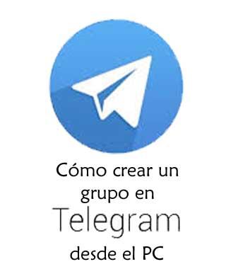Hacer grupos en Telegram