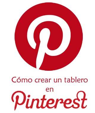 Hacer tableros en Pinterest