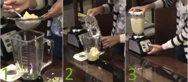 Cómo hacer leche de quinoa casera