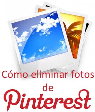 Borrar fotos en Pinterest