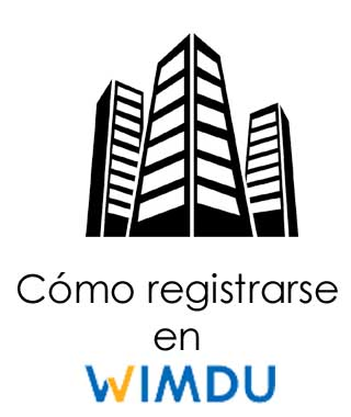 Crear una cuenta en Wimdu