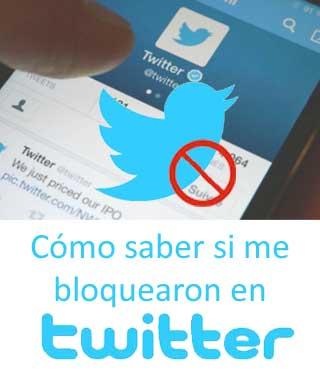 Bloquear a un usuario en Twitter