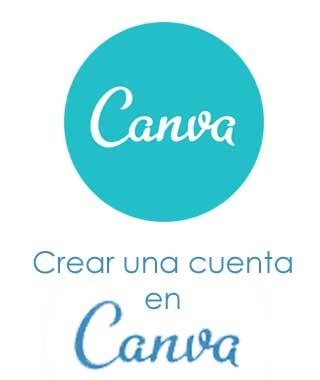 Registrarse en Canva