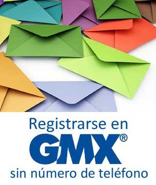 Abrir un correo en GMX sin número móvil