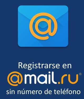 Abrir un corroe en Mail.ru sin número móvil