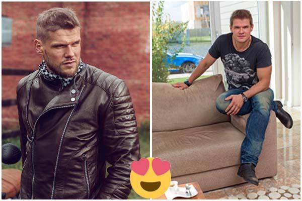 Hombres rusos guapos, bonitos y atractivos (fotos)