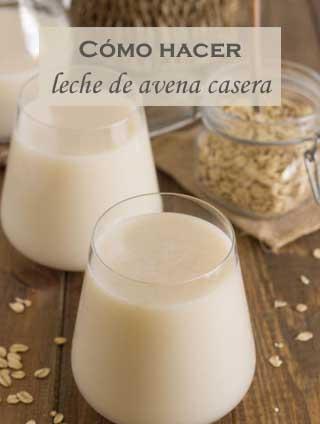 Cómo prepara leche de avena en casa
