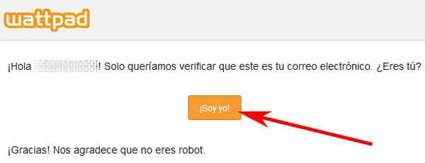 Abrir una cuenta en Wattpad en español