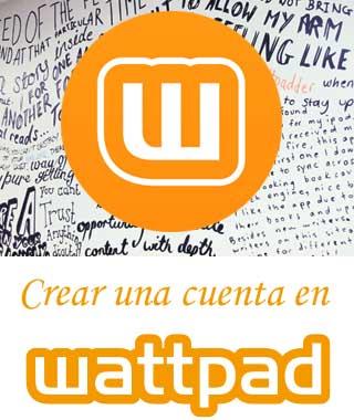 Abrir una cuenta en Wattpad