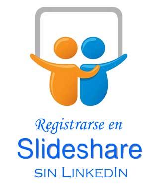 Crear una cuenta en SlideShare sin LinkedIn