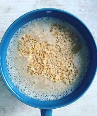 Cómo hacer leche de avena casera