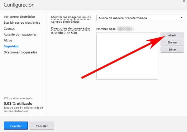 crear una dirección de correo desechable en Yahoo