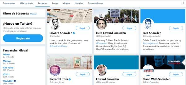 Buscar personas en Twitter sin registrarse