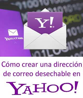 Crear un alias en Yahoo