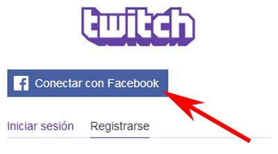 Cómo registrarse en Twitch