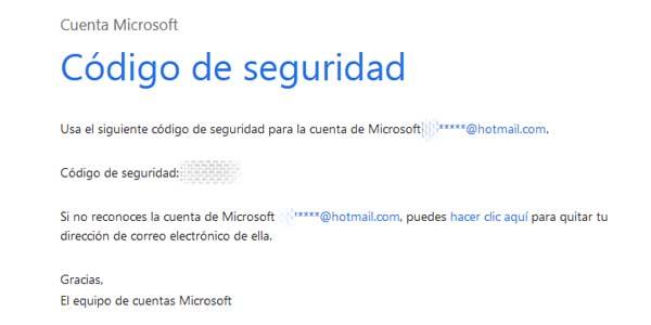 Cómo acreditar la identidad en Hotmail