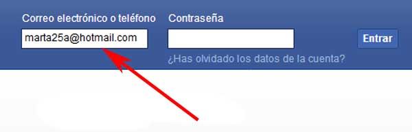 Cómo entrar a mi Facebook
