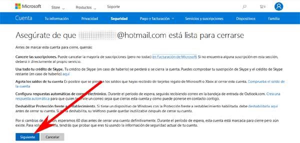 Cómo eliminar una cuenta de Hotmail para siempre