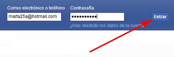 cómo iniciar sesión en facebook correctamente