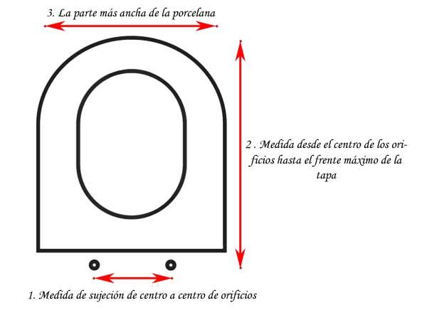 Qu tapa de wc comprar formas materiales y medidas medidas para comprar tapa del wc o inodoro urtaz Images